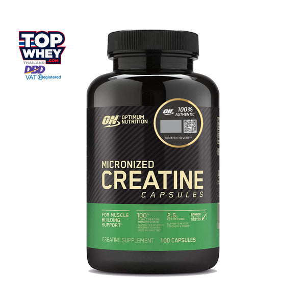 Optimum Nutrition Creatine 2500 100 Capsules