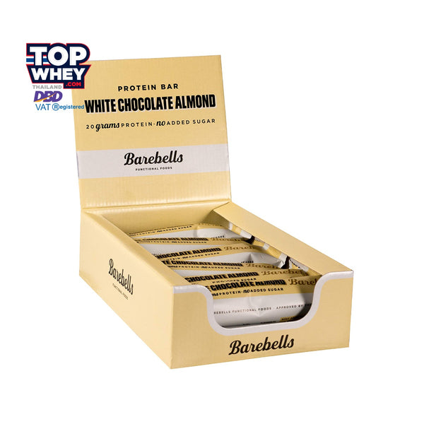 Barebells โปรตีนบาร์ - 12pcs (1 Case) - White Chocolate Almond