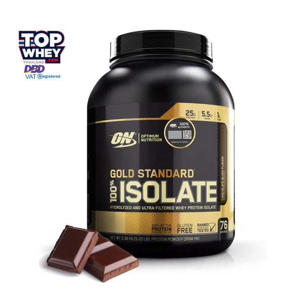 Optimum Nutrition Gold Standard 100% Isolate 5lbs