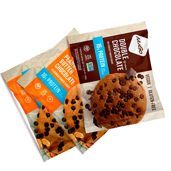 NuGo Nutrition Protein Cookies - 12pcs