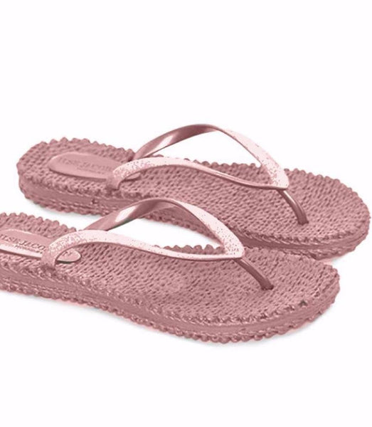 Ilse Jacobsen Cheerful01 Flip Flop Thongs - Misty Rose