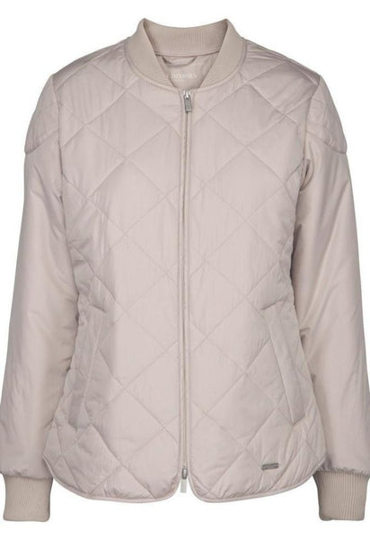 Ilse Jacobsen Art02 Padded Quilt Jacket - Chateau Gray