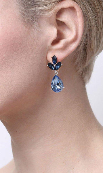 Snö of Sweden Noemi Drop Earrings S/Mix 1