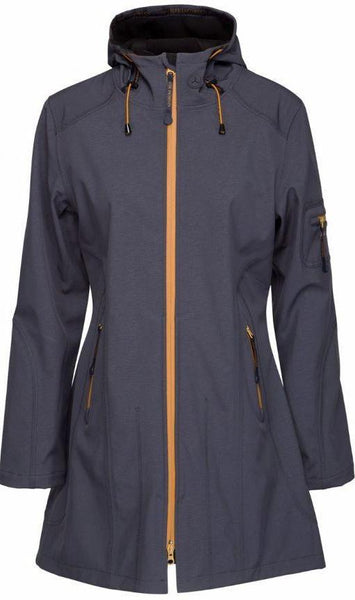 Ilse Jacobsen Rain07 Raincoat - India Ink Black