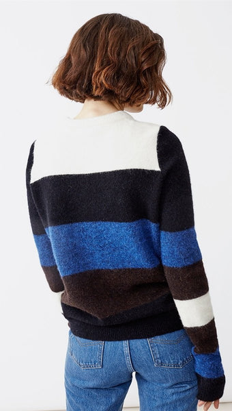 Twist & Tango Estelle Sweater Cobolt Block