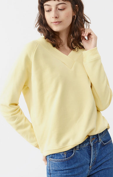 Twist & Tango Petunia Sweater - Cream Yellow
