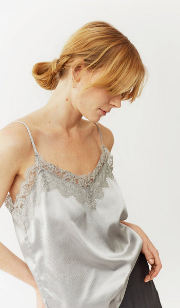 Twist & Tango Angelica Top - Silver Blue