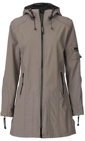 Ilse Jacobsen Rain07 Raincoat - Dark Ash