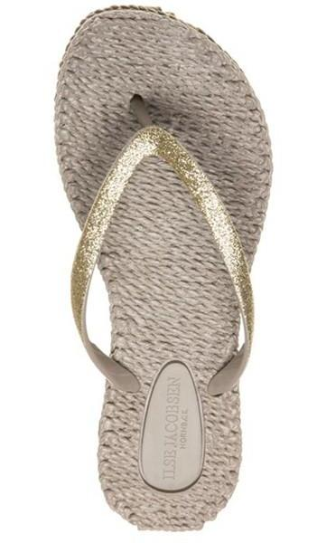 Ilse Jacobsen Cheerful01 Flip Flop Thongs - Platinum