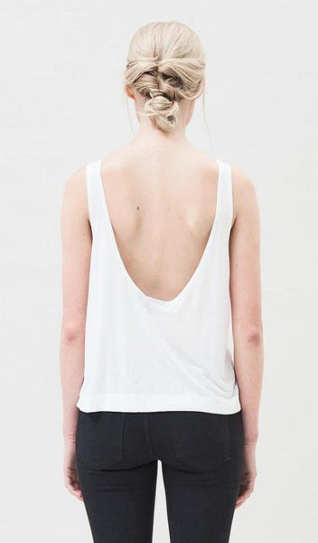 Dr Denim Zora Singlet - White