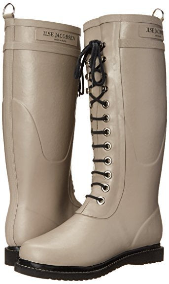 Ilse Jacobsen Rub1 Long Rubber Boot - Atmosphere