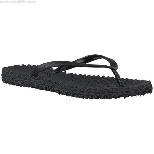 Ilse Jacobsen Cheerful01 Flip Flop Thongs - Black