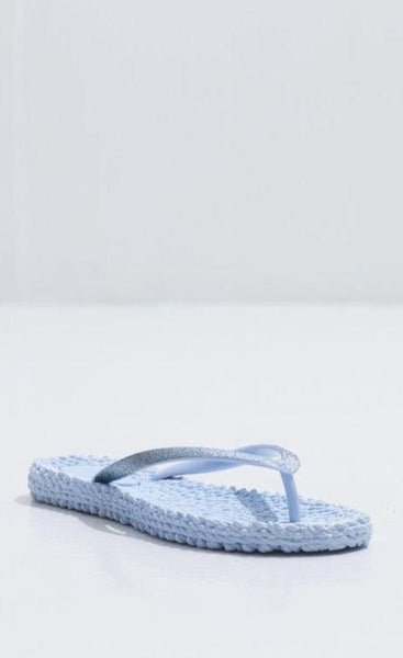 Ilse Jacobsen Cheerful01 Flip Flops Thongs - Blue Bell