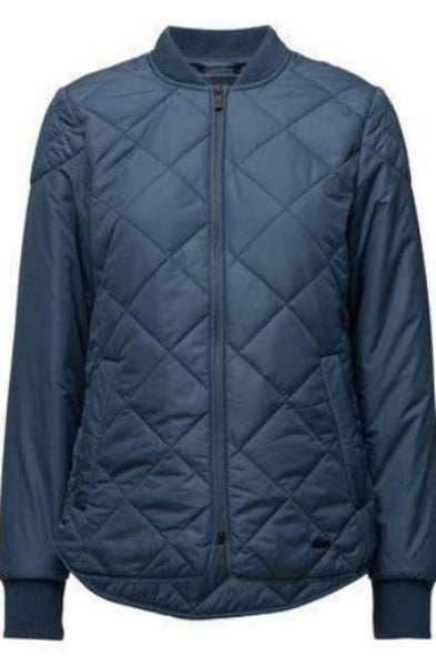 Ilse Jacobsen Art02 Padded Quilt Jacket - Blue Rock