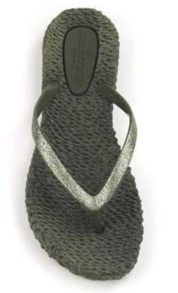Ilse Jacobsen Cheerful01 Flip Flop Thongs - Army