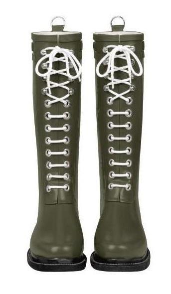 Ilse Jacobsen Rub1 Rubber Boot- Army