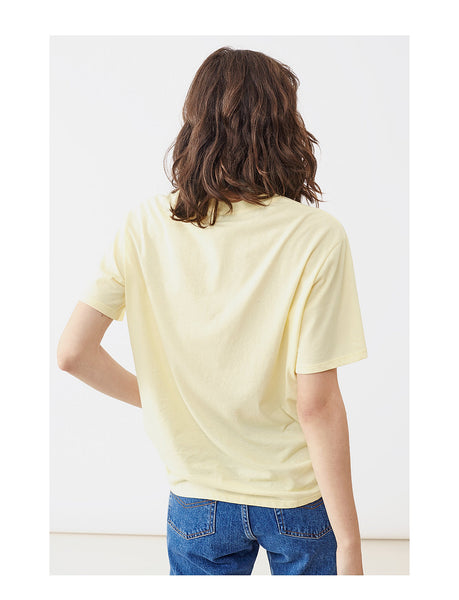 Twist & Tango Heidi tee - Cream Yellow