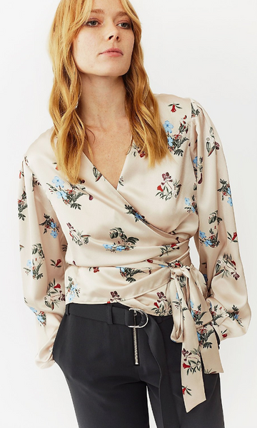 Twist & Tango Valentina Blouse- Blush Flower