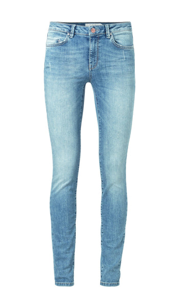 YAYA Basic Skinny - Blue Denim