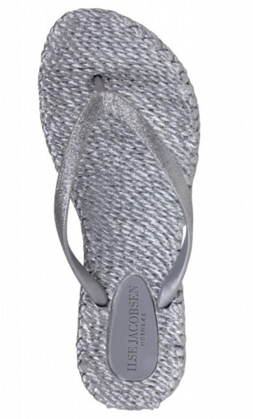 Ilse Jacobsen Cheerful01 Flip Flop thongs - Silver