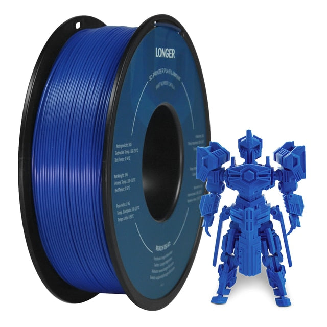 PLA Filament Roll 1.75mm for 3D Pen / Printers 1KG (2.2 Lbs)
