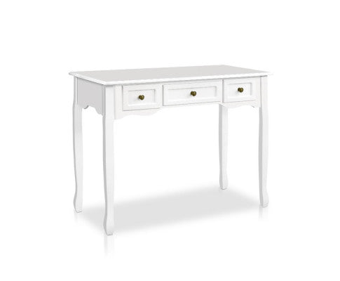 French Provincial Hallway Table - White