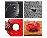 Devanti 5 Tray Food Dehydrator - Red