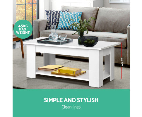 Coffee Table with Lift Up Top - OUT OF STOCK