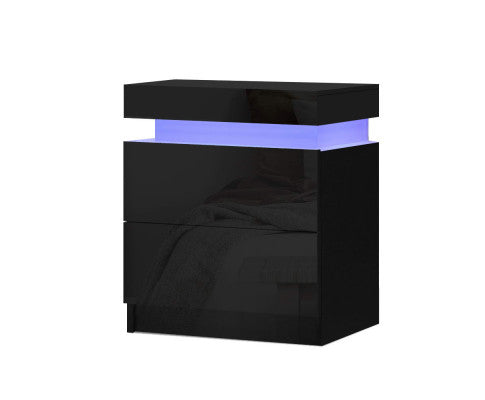LED Bedside Table - OUT OF STOCK