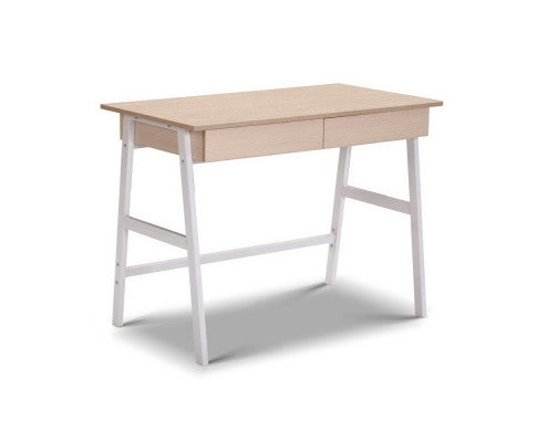 2 Drawer Desk - Scandinavian Style