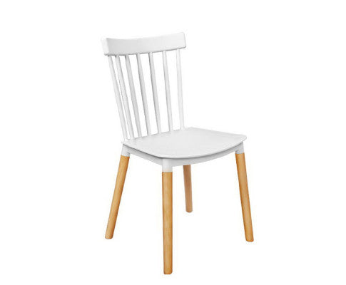 4 x White Dining Chairs