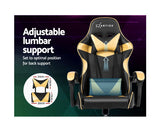 Office / Gaming Chair - Black & Gold