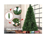 Jingle Jollys 2.4M Christmas Tree - OUT OF STOCK