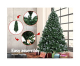 Jingle Jollys 2.1M Christmas Snow Tree - OUT OF STOCK