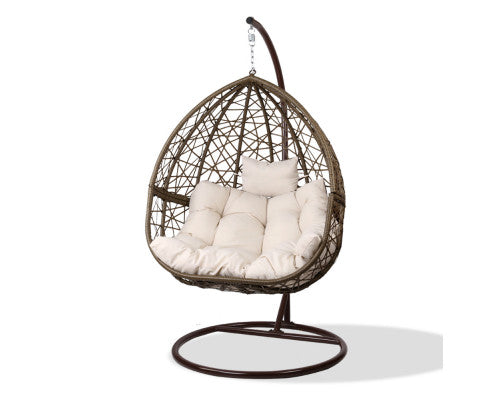 Hanging Swing Chair - Brown - OUT OF STOCK
