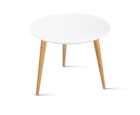 Scandi Round Side Table