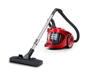 Devanti 2200W Bagless Cyclonic Vacuum - Red