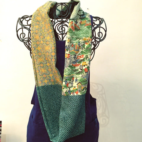 Kimono Snood(écharpe) Infinitive for Green lover