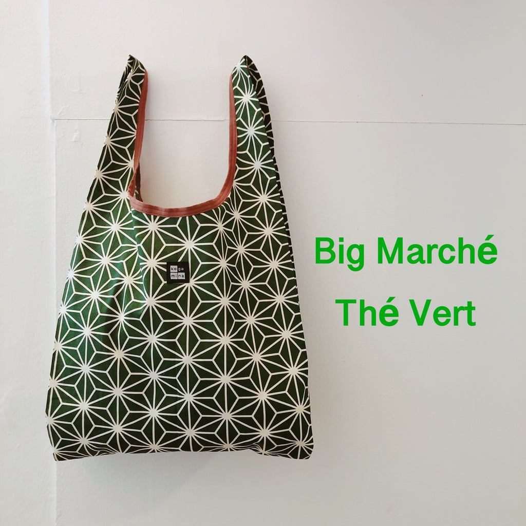 Big Marché Linen leaves Green tea