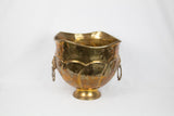 Brass Lion Planter