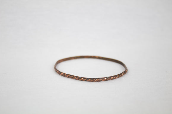 Thin Copper Bangle