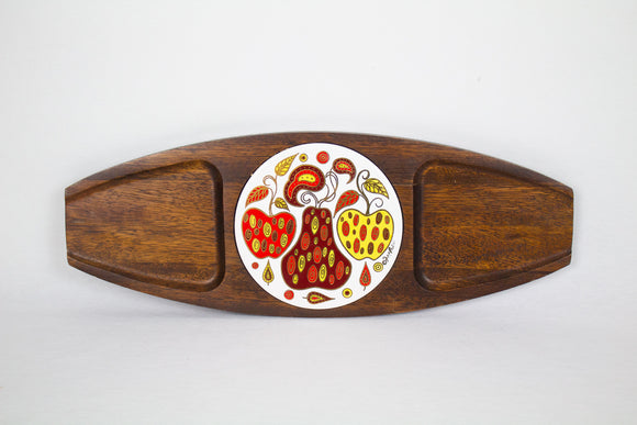 Fred Press Paisley Apple and Pear Cheese Board