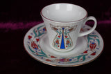 Turkish Teacup + Saucer