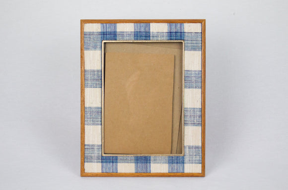Plaid Tabletop Picture Frame