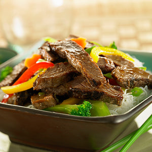 Fully Cooked Seasoned Beef Strips (2kg)