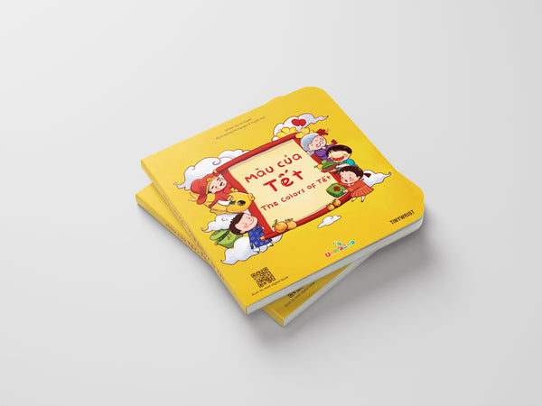 The Colors of Tet | Màu của Tết, a Bilingual Book about Colors and Vietnamese Lunar New Year