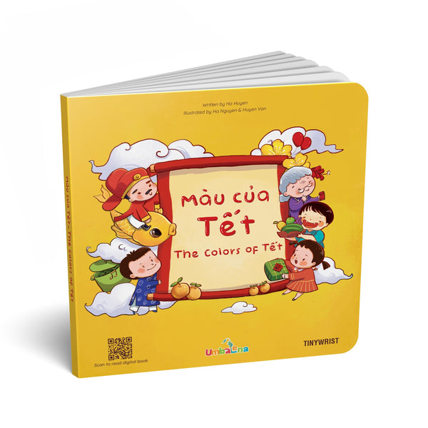 The colors of Tết book