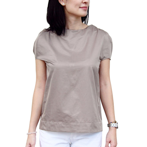 BELLE Puff-sleeve Top