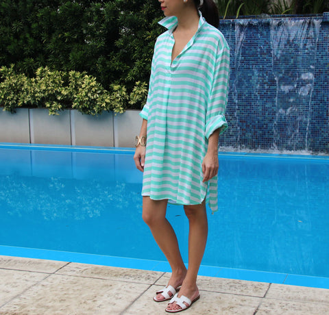 CURACAO Polo Shirt Dress