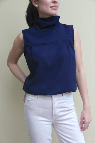 SASA Tie-neck Sleeveless Top